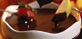 Receita – Fondue de chocolate