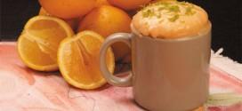 Bolo de laranja – feito na caneca