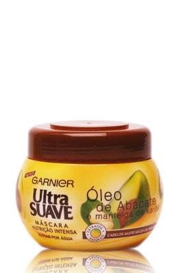Ultra Suave Garnier de Óleo de Abacate e Manteiga de Karité