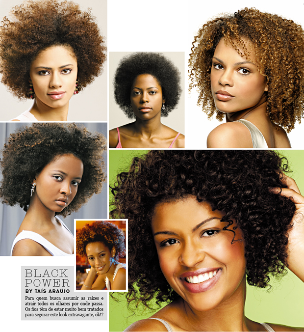 black power-corte -penteado