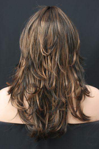 Corte repicado em camadas – cabelos longos – Blog da Adri