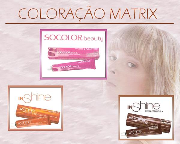 Coloração matrix Coloração Matrix   Tonalizante e Tintura Permanente