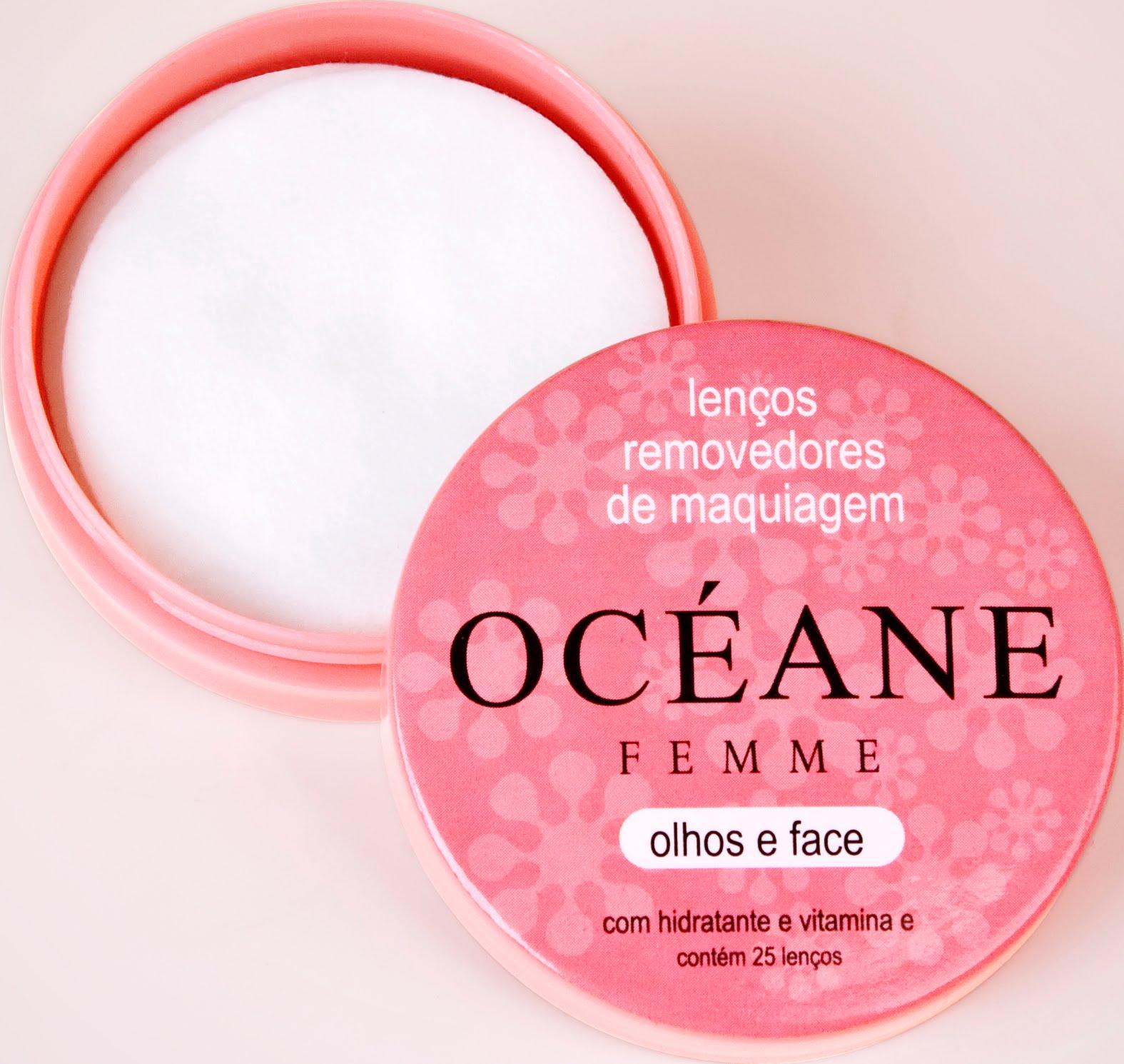 Removedor de Maquiagem - lencos- Femme Océane