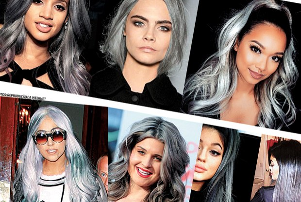 granny hair-fotos